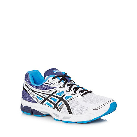 ASICS - White +Gel Phoenix 6+ running trainers