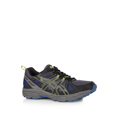 ASICS - Dark grey +Gel Trail Tambora 4+ trainers