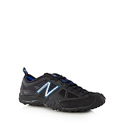 New Balance - Black mesh lace up gym trainers