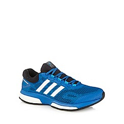 adidas - Blue mesh 'Response Boost' running trainers
