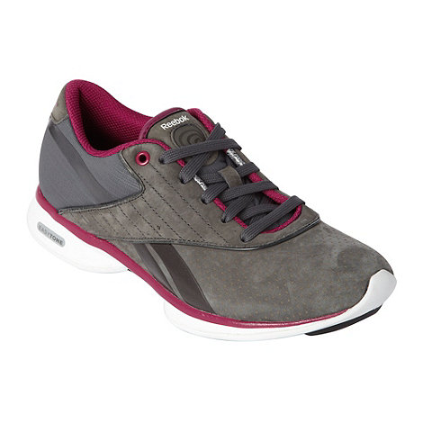Reebok - Grey +Easytone Go Outside+ trainers