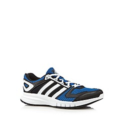 adidas - Blue 'Galaxy' mesh trainers