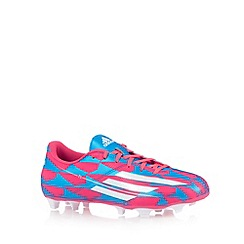 adidas - Pink 'F5' firm ground boots