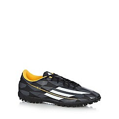 adidas - Black 'F5 TF' football boots
