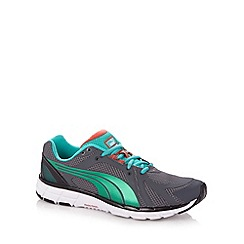 Puma - Dark grey 'Fass 600' trainers