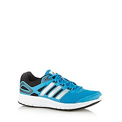 adidas - Blue 'Duramo 6' striped trainers