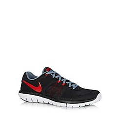 Nike - Black 'Flex 2014 Run' trainers