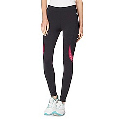 XPG by Jenni Falconer - Black tight zipped cuff running trousers
