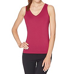 XPG by Jenni Falconer - Dark pink V neck running vest