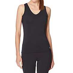 XPG by Jenni Falconer - Black V neck tank top