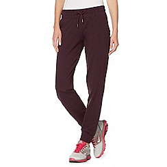 XPG by Jenni Falconer - Plum cuffed jogging bottoms