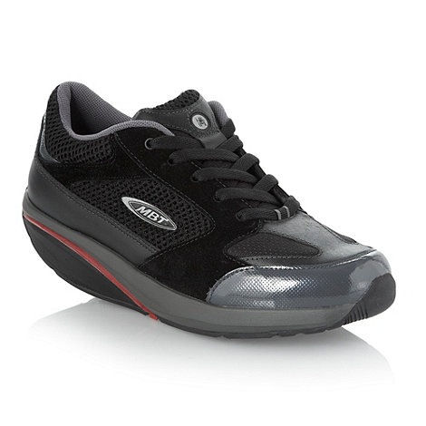 MBT - Black curved sole trainers