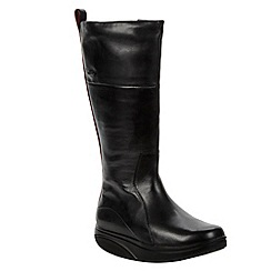 MBT - Black 'Tenga' knee high boots