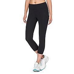 Under Armour - Black fitted capri pants