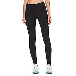 Under Armour - Black tight zipped cuff leggings