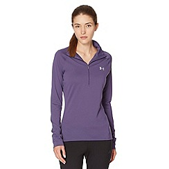 Under Armour - Purple half zip top