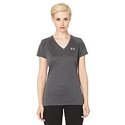 Under Armour - Dark grey technical gym t-shirt