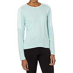 adidas - Light green 'Response' top