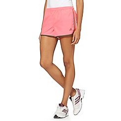 adidas - Bright pink 'M10' running shorts