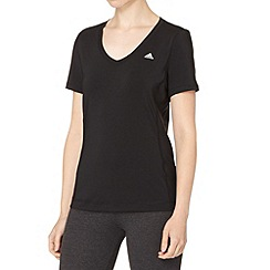 adidas - Black 'ClimaLite' gym top