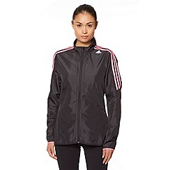 adidas - Black lightweight wind jacket
