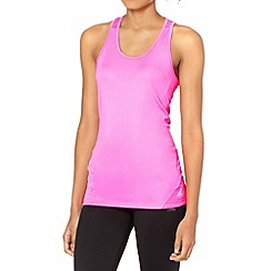 adidas - Bright pink 'ClimaLite' tank top