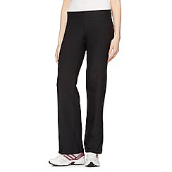 adidas - Black 'Ultimate' gym trousers