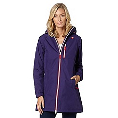 Helly Hansen - Purple hooded jacket