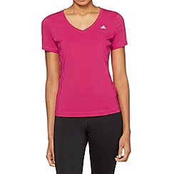 adidas - Pink 'Clima' gym t-shirt