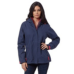 Helly Hansen - Blue performance rain jacket