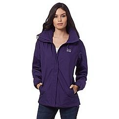 Helly Hansen - Purple lightweight technical jacket