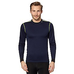 Helly Hansen - Navy long sleeved base layer top