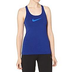 Nike - Blue logo tank top