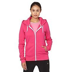 Nike - Pink 'Club' zipped hoodie