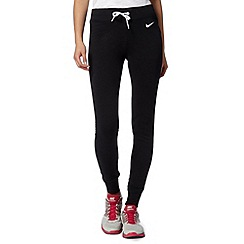 Nike - Black slim fit jogging bottoms