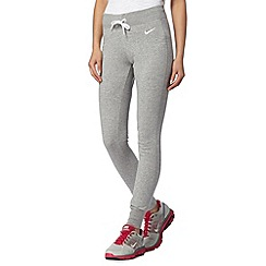 Nike - Grey slim fit jogging bottoms