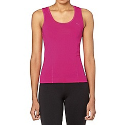 Puma - Pink racer back tank top