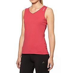 Reebok - Pink slim fit tank top
