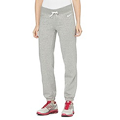 Nike - Grey cuffed jogging bottoms