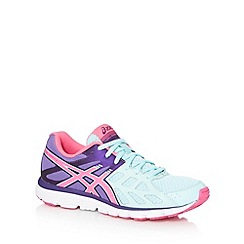 ASICS - Light green 'Gel Zaraca 3' running trainers