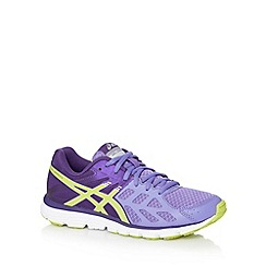 ASICS - Purple 'Gel Zaraca 3' running trainers