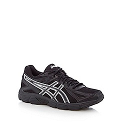 ASICS - Black mesh 'Patriot 7' running trainers