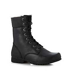Caterpillar - Black 'Alexi' lace up boots