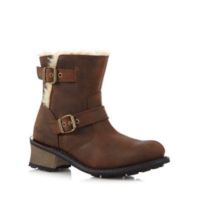 Caterpillar Brown ´Anna Kick´ boots - . -