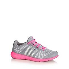 adidas - Grey 'Key Flex' trainers
