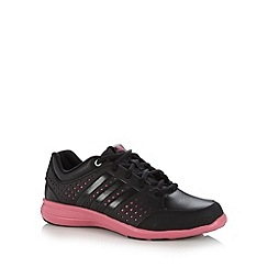 adidas - Black 'Arianna 3' mesh trainers