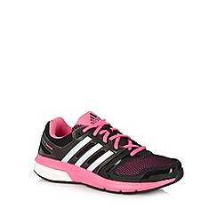 adidas - Black 'Questar Boost' mesh running trainers