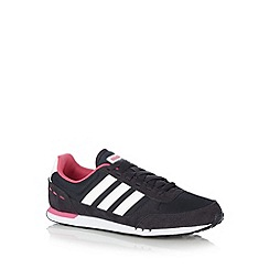 adidas - Navy 'Neo City Racer' trainers