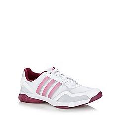 adidas - White 'Sumbrah 3' mesh trainers