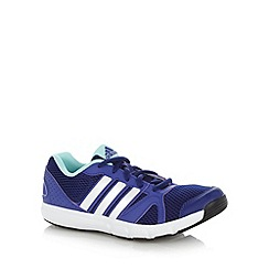 adidas - Purple 'Essential Star 2' trainers
